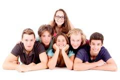 подростки Стоковое фото RF