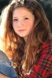 Подростковая красота стоковые фотографии rf