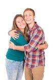 Подростковые пары стоковая фотография rf