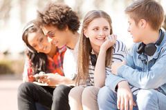 Подростковые друзья. Стоковое Изображение