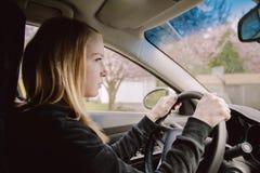 Подростковый водитель Стоковое Изображение RF