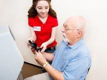 Подростковый волонтер избрания Стоковая Фотография