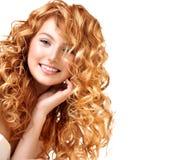 Подростковый модельный портрет девушки Стоковое Изображение RF