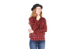 Подростковый любитель музыки Стоковая Фотография RF