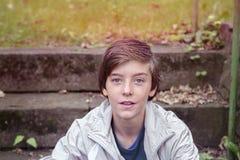 подросток мальчика ся Стоковые Изображения RF