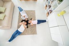 Подросток дома Стоковая Фотография RF