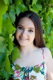Подросток ослабленный outdoors Стоковое фото RF