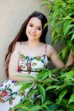 Подросток ослабленный outdoors стоковые изображения rf