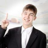 подросток перста вверх Стоковые Фотографии RF