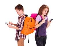 Подросток поколения компьютера Стоковое Изображение