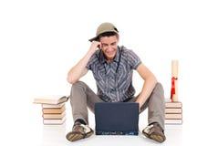 подросток студента мальчика Стоковое Изображение RF
