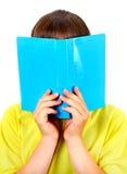 Подросток с книгой Стоковое Фото