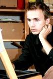 подросток тетради Стоковые Фотографии RF