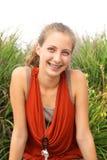 Подросток Smilng Стоковое Изображение RF