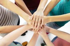 Подруги объединенные Стоковая Фотография RF