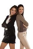 подруги счастливые 2 Стоковые Фото