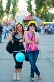 2 подруги украинца Стоковая Фотография