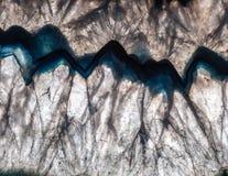 Подсвеченный минеральный макрос Стоковая Фотография RF