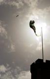 Подсвеченный флаг Стоковые Изображения