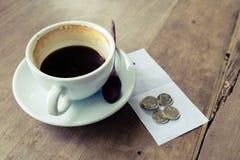Подсказка кофе Стоковое Изображение RF