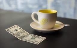 Подсказка 10 долларов Стоковые Фотографии RF
