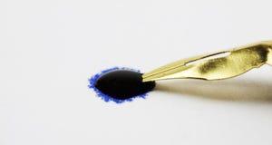 Подсказка ручки в падении чернил стоковые изображения rf