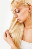 Подсказки волос стоковые изображения