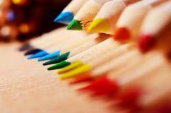 Подсказки карандаша Стоковая Фотография RF