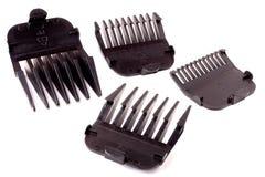 Подсказки для клиперов волос изолированных на белизне Стоковые Фото