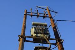 Подстанция электричества Стоковая Фотография