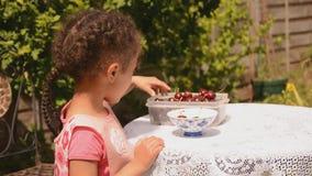 Подсчитывать вишни Стоковое Изображение