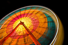 Полуночное колесо Ferris Стоковые Изображения RF