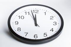 полуночные минуты до 2 Стоковые Фотографии RF