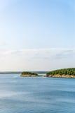 Полуостров озера Гарри s Truman стоковые фотографии rf