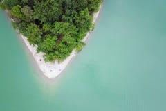 Полуостров от воздуха стоковые изображения rf