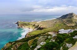 Полуостров пункта накидки в Южной Африке Стоковые Фото
