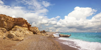 Полуостров Akamas Кипр Стоковое Изображение
