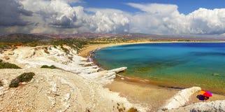 Полуостров Akamas Кипр стоковое фото