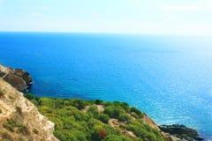 Полуостров Fiolent Крыма накидки Стоковое Изображение
