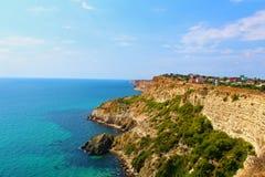 Полуостров Fiolent Крыма накидки Стоковые Фото