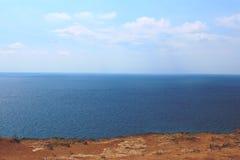 Полуостров Fiolent Крыма накидки Стоковая Фотография
