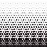 Полутоновое изображение с диамантами и квадратами Стоковые Изображения RF