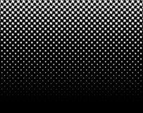 Полутоновое изображение любит элемент крестов Однокрасочное абстрактное изображение Стоковая Фотография