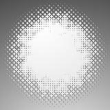 Полутоновое изображение любит элемент крестов Однокрасочное абстрактное изображение Стоковая Фотография RF