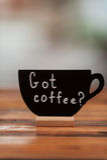 Полученный кофе? Стоковые Изображения RF