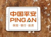 Получ информационные пакеты китайский логотип банка Стоковое Фото