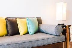 Подушка на софе Стоковая Фотография RF