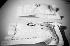 подушка партии воздушного шара предпосылки звенит венчание Стоковые Фото