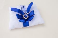 подушка партии воздушного шара предпосылки звенит венчание Стоковое Фото