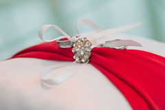 Подушка свадьбы Стоковые Фото